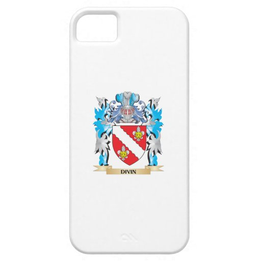 Divin Coat of Arms - Family Crest iPhone 5/5S Cover