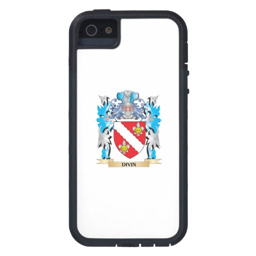 Divin Coat of Arms - Family Crest iPhone 5/5S Cases