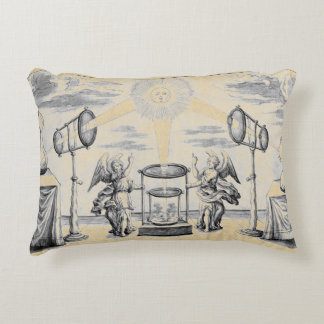 Divine Arcana of Alchemy Decorative Pillow