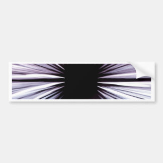 Divine beautiful art rays colours joy fashion bumper sticker