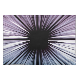 Divine beautiful art rays colours joy fashion placemat