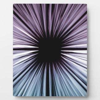 Divine beautiful art rays colours joy fashion plaque