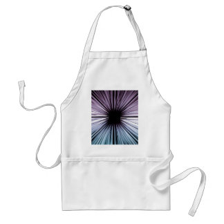 Divine beautiful art rays colours joy fashion standard apron