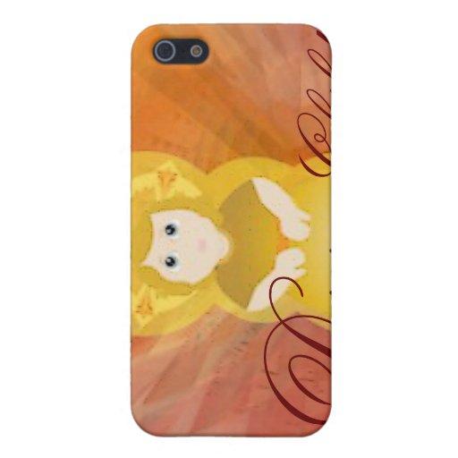 Divine Child Dazzling Love Fiery Angel's Wings iPhone 5 Case