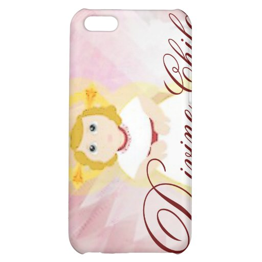 Divine Child Dazzling LoveBurgundy Angel's Wings iPhone 5C Cover