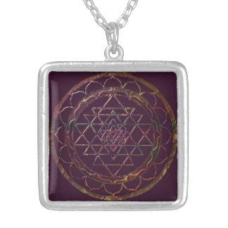 Divine Color Sri Yantra4 Necklace