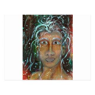 Divine Feminine Ragnhailt Post Card