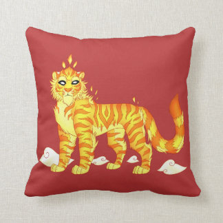 """Divine Fire Tiger"" Cushion 41 cm x 41 cm"