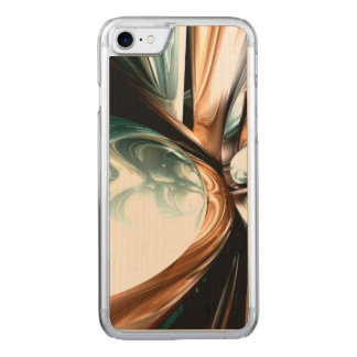 Divine Flavor Abstract Carved iPhone 7 Case