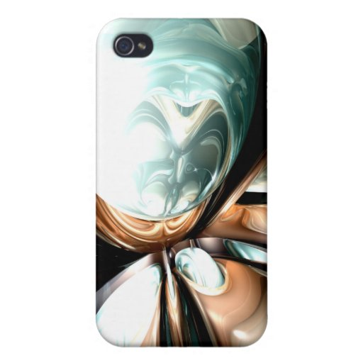 Divine Flavor Abstract  iPhone 4 Case