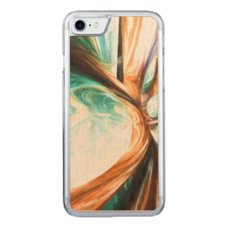 Divine Flavor Pastel Abstract Carved iPhone 7 Case