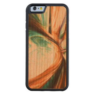 Divine Flavor Pastel Abstract Carved® Cherry iPhone 6 Bumper Case