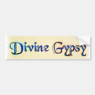 Divine Gypsy Bumper Sticker