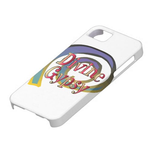 Divine Gypsy Colorful Swirling Design iPhone 5 Cover