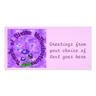 Divine Hallucination Temple Photo Card Template