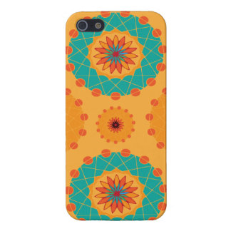 Divine heart flower patterns cover for iPhone 5/5S