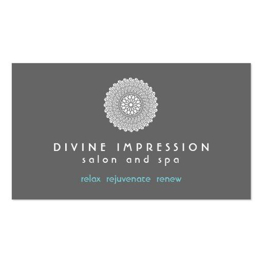 Divine Impression Blue 2 Business Card Template