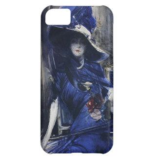 Divine in Blue iPhone 5 Case
