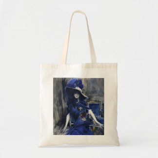 Divine in Blue Tote Bag