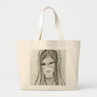 Divine Mary Large Tote Bag