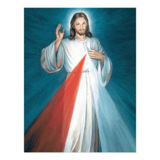 divine mercy customized letterhead