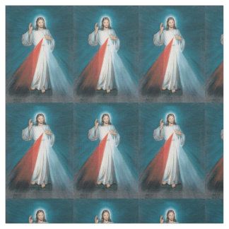divine mercy fabric