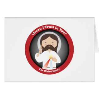 Divine Mercy of Jesus Card