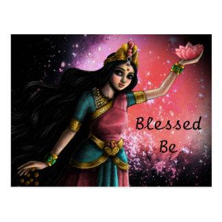 Divine Mother Postcard