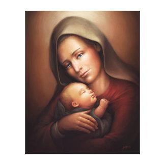 Divine Motherhood Canvas Print