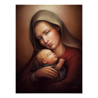 Divine Motherhood Poster