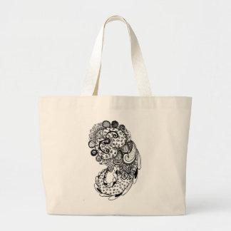 Divine Paisley Large Tote Bag