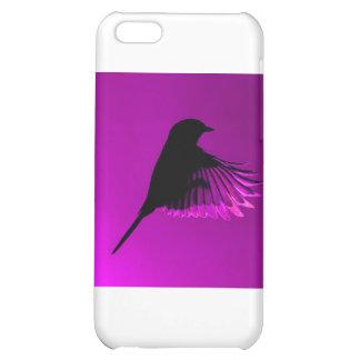 Divine Purple Bird Case For iPhone 5C