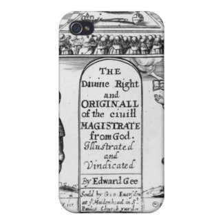 Divine Right Original Civil Magistrate from iPhone 4/4S Covers