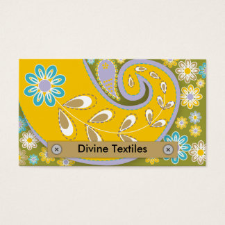 Divine Textiles Business Cards