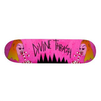 Divine Thrash by Demonbabies Skateboard Deck