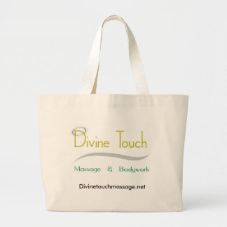 Divine Touch Large Tote Bag