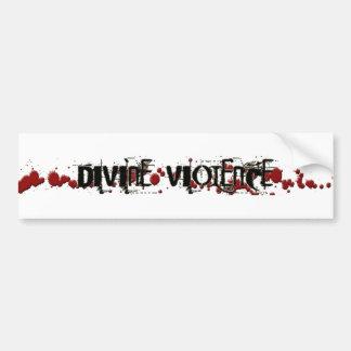 Divine Violence bumper sticker