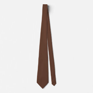 Divinely Confectionary Brown Colour Tie