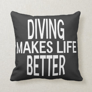 Diving Better Pillow - Assorted Styles & Colors