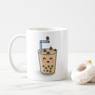 Diving Boba Pearl Tea Mug
