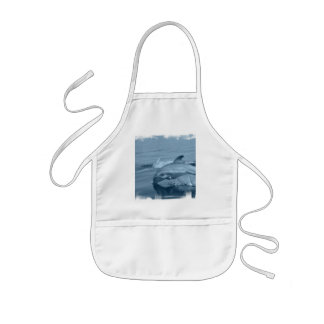 Diving Dolphin Smock Kids Apron