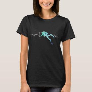 Diving heartbeat T-Shirt