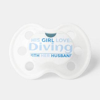 diving_husband pacifier