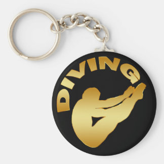DIVING KEYCHAIN