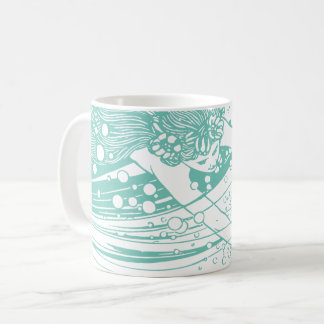 Diving Mermaid Mug