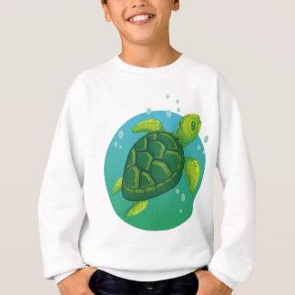 Diving more water ocean sea turtle sweatshirt