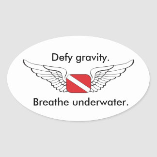 Diving Pilots Sticker