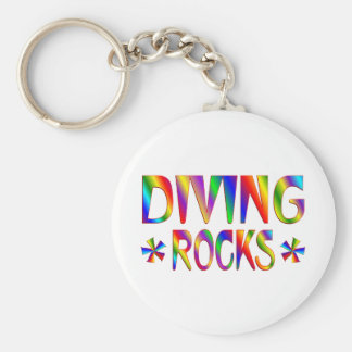 DIVING ROCKS KEYCHAIN