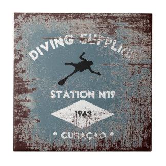 Diving Supplies Tile