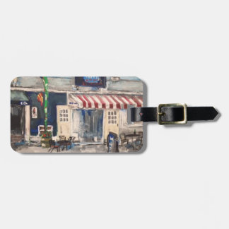 Division Street, Kelley's Island Luggage Tag
